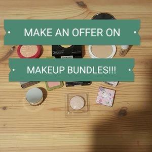 MAKE AN OFFER of makeup bundles of 3 or more!